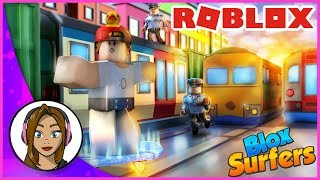 SUBWAY SURFING IN ROBLOX | Roblox - Blox Surfers