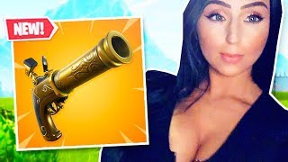 NEW FLINT KNOCK PISTOL & TRI SCI SKINS IN FORTNITE! SOLO CONSOLE GAMEPLAY!