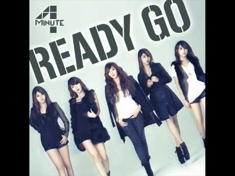 4MINUTE 'Ready Go'(JAPANESE VERSION)