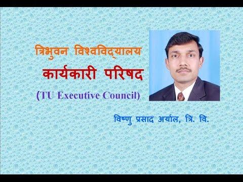 Executive Council of Tribhuvan University (त्रिभुवन विश्वविद्यालय कार्यकारी परिषद )