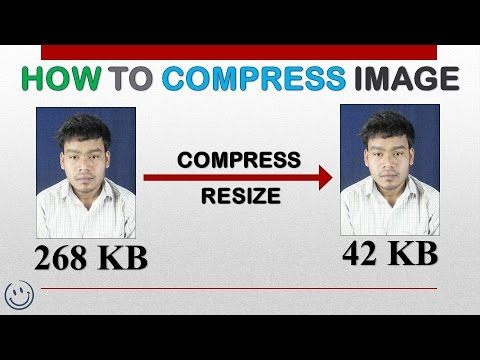 HOW TO COMPRESS IMAGE AND RESIZE   FULL TUTORIAL  