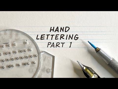 Great guide to hand-lettering comics