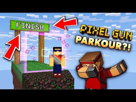 DID I WIN THIS PG3D CHALLENGE?! (Pixel Gun 3D Extreme Run & Parkour Challenge Minigame Gameplay)