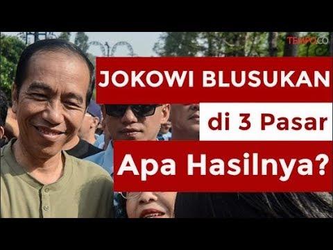 Jokowi Hari Ini Blusukan di 3 Pasar, Apa Hasilnya? Mp3