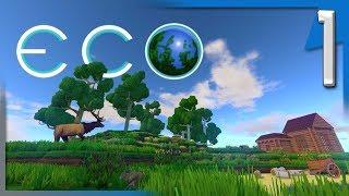 ECO ALPHA 6.1 - EDUCATIONAL ECONOMICAL ENVIRONMENT ENTERTAINMENT? | ECO Multiplayer Gameplay E1