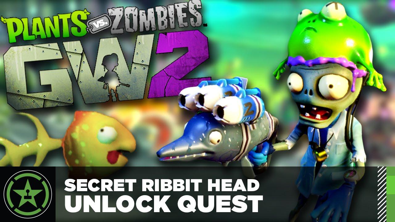 Plants vs  Zombies Garden Warfare 2 - Secret Ribbit Head Unlock Quest