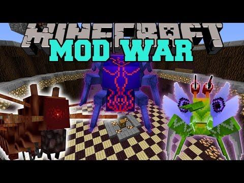 WAR OF BUGS - Minecraft Mod War Battle - Mods