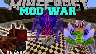 WAR OF BUGS - Minecraft Mod War Battle - Mods