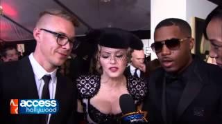 Madonna talks Taylor Swift