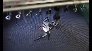 как работает вышивальная машина? Студия машинной вышивки Ninta