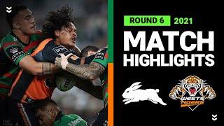 Rabbitohs v Wests Tigers Match Highlights   Round 6, 2021   Telstra Premiership   NRL