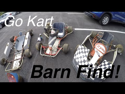 Go Kart Barn Find: 3 For $300!