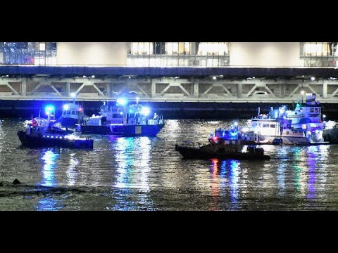 NYC HELICOPTER CRASH: 2 Dead, 3 Injured In Helicopter Crash Into East River In NYC