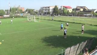 Gheorghe Hagi - Antrenamente cu juniorii Academiei!