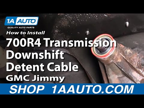 How To Replace Transmission Transfer case Tailshaft Seal 84-91 GMC Jimmy