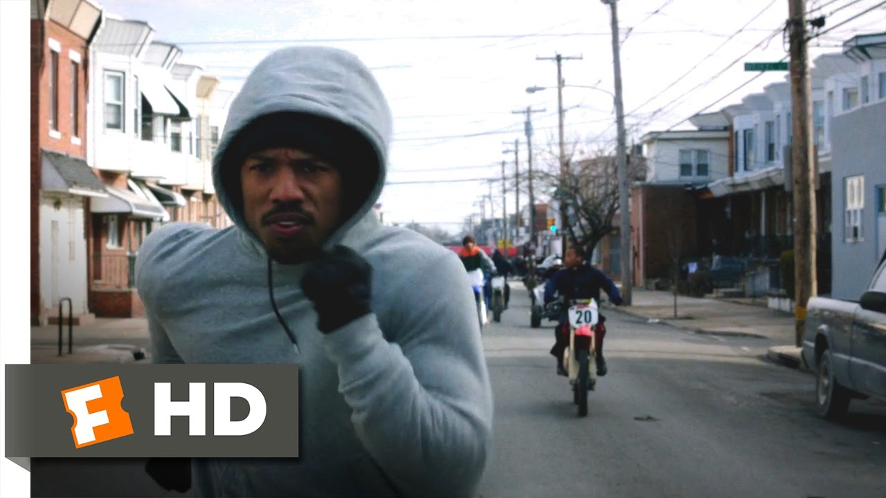 ad151d56b633d7 Creed - Run to Rocky Scene (7 11)