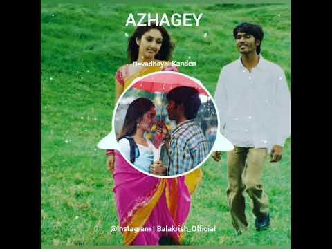 Azhage Brammanidam BGM | Devadhayai Kanden | Dhanush | Instagram | BalakrishBGM | FB | Balakrish BGM