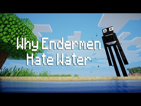 Why Endermen Hate Water - Minecraft