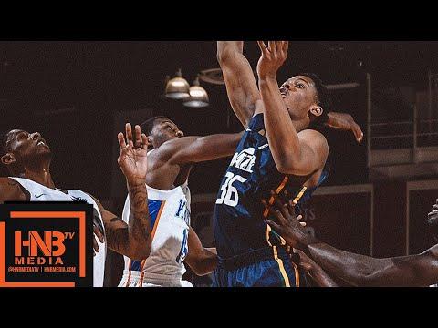 Utah Jazz vs New York Knicks Full Game Highlights / July 8 / 2018 NBA Summer League