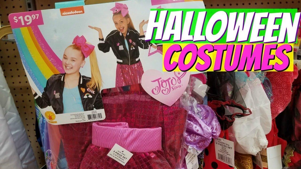 walmart halloween costumes- shop with me 2017 - youtube
