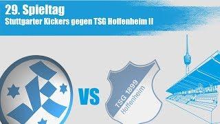 29. Spieltag, Stuttgarter Kickers vs TSG Hoffenheim II - Spielbericht+Interviews