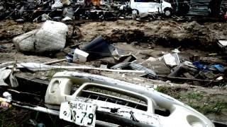 震災直後の被災地の記録:仙台市若林区荒浜