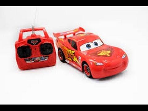 Coche de juguete de control remoto de disney pixar cars rayo mcqueen youtube - Juguetes de cars disney ...
