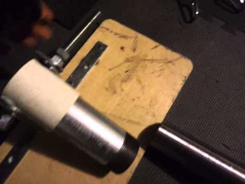how to make a homemade barbell