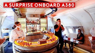 The A380 is Back! An Emotional Emirates A380 Flight