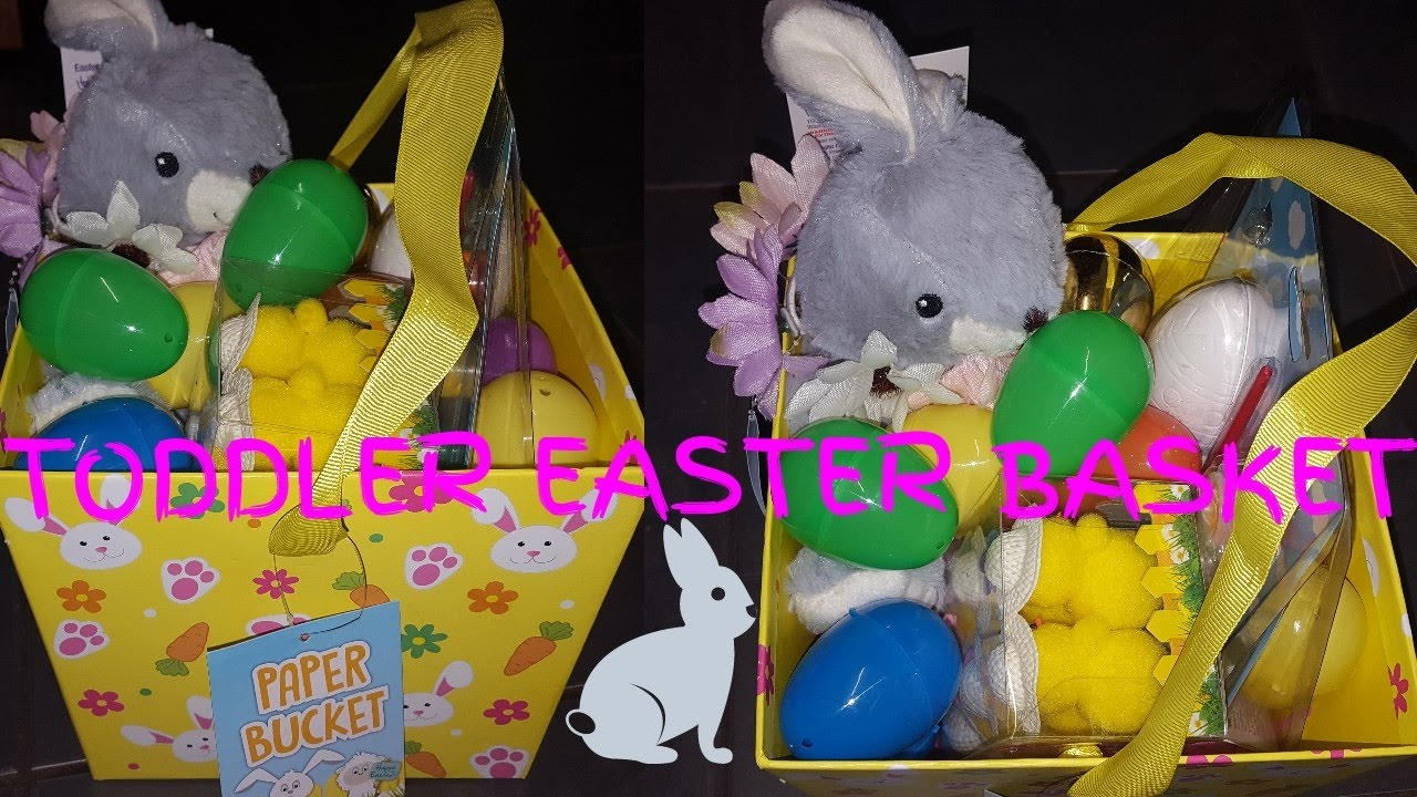 Toddler easter basket poundland asda youtube toddler easter basket poundland asda negle Image collections