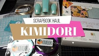 Compras Scrapbook Haul | Kimidori | Yoltzin Handmade