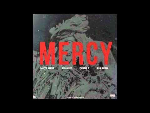 Kanye West feat Big Sean, Pusha T, & 2 Chainz  Mercy Clean Version