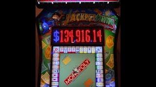 Monopoly Jackpot Station Big Win!!