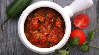 Ինչպես Պատրաստել Լեչո Թանձրուկ - Tomato Sauce Lecho - Հեղինե - Heghineh Cooking Show in Armenian