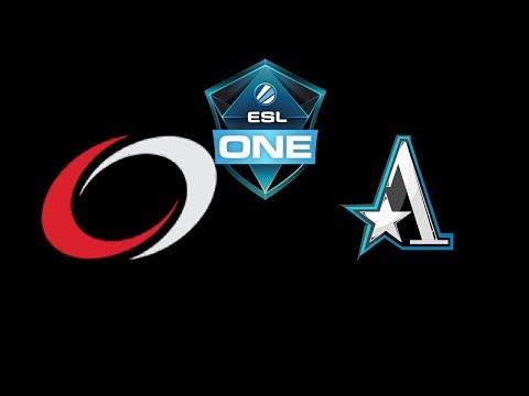 coL vs Team Aster ESL One Hamburg 2018 Highlights Dota 2