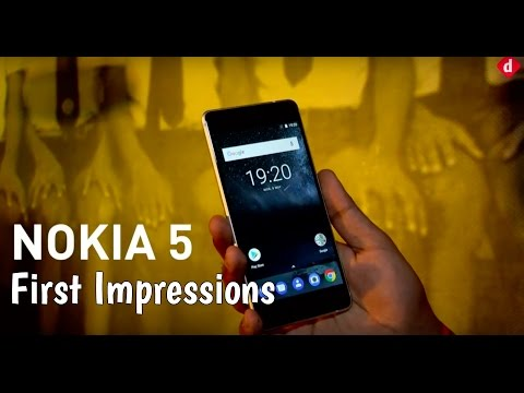 Nokia 5 First Impressions | Digit.in