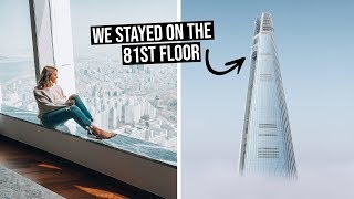 We Stayed in One of the Worlds Tallest Hotels | 5 Star Hotel in Seoul, Korea