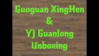guoguan xinghen 2x2 yj guanlong 3x3 unboxing