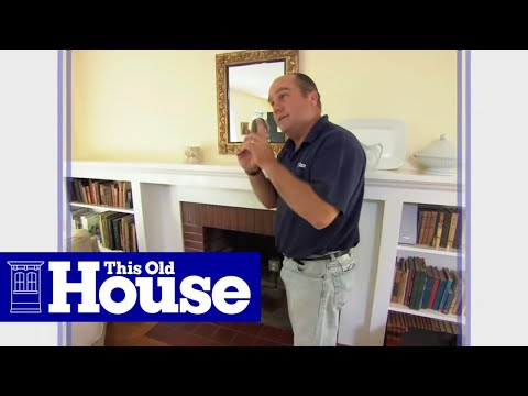 How to Install a Gas Fireplace Insert - YouTube