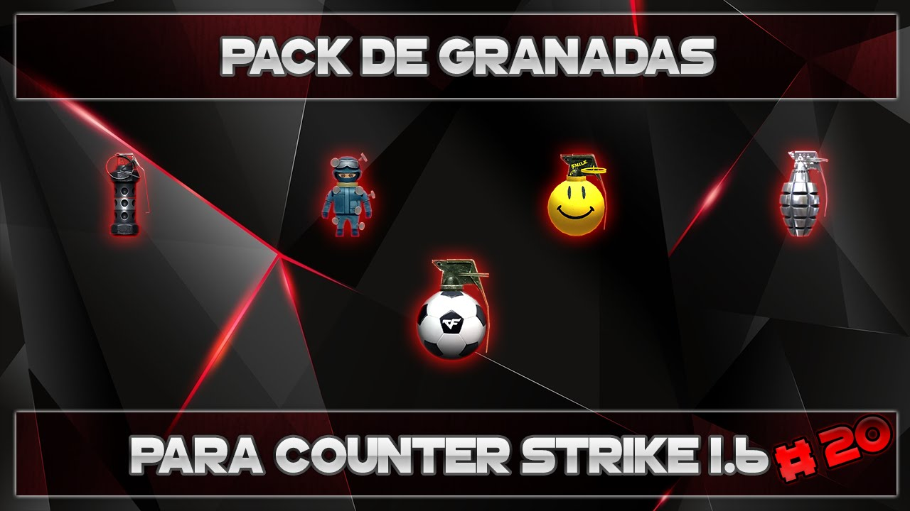 skins de granadas para cs 1.6