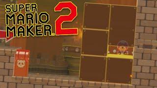 I GOT DGR TROLLED in Super Mario Maker 2 - Super Expert No Skip