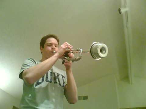 Jazz Trumpet Solo- F Blues