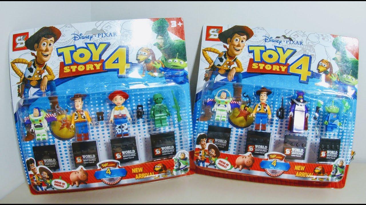 Lego Toy Story 4 Disney Woody Buzz Aliens Zurg Jessie E