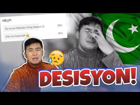 CANCELLED NA BA ANG TRAVEL TO PAKISTAN?!