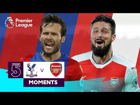 Crystal Palace vs Arsenal | Top 5 Premier League Moments | Cabaye, Giroud, Zaha