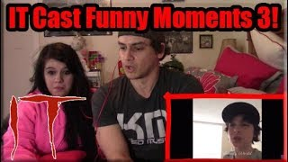 """IT Movie Cast Funny Moments Part 3"" 