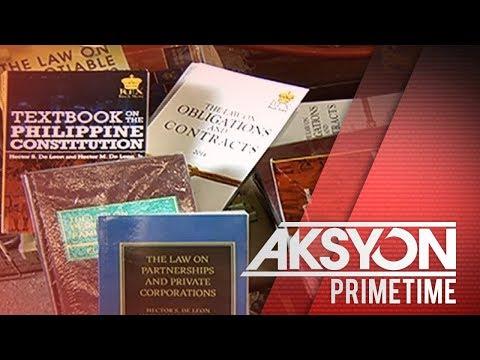 Pagbebenta ng pekeng libro, nabisto sa isang bookstore sa Recto, Manila