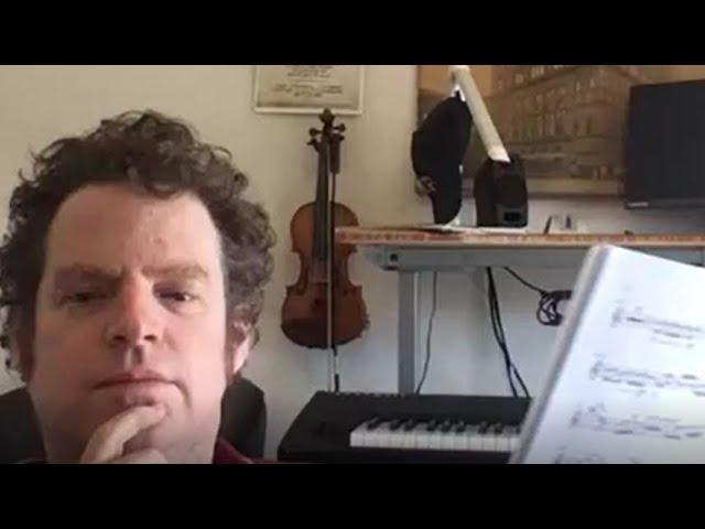 The Santa Fe Symphony | Facebook LIVES with David Felberg, concertmaster on May 15, 2020