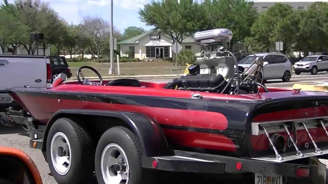 Race Boat V8 CRAZY!
