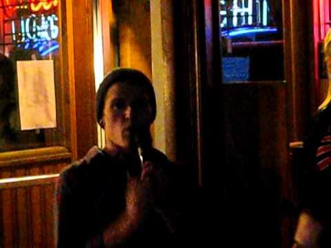 Ryan Popple Meat Loaf karaoke